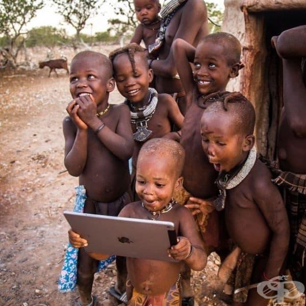 Когато технологията достигне до най-отдалечените точки в света