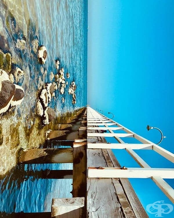 Тази симетрия на австралийския плаж е достатъчна, за да накара някой да пътува.