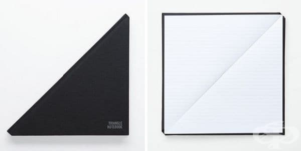 Триъгълен бележник.
