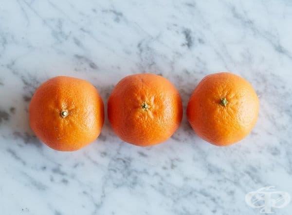 3 мандарини = 100 калории
