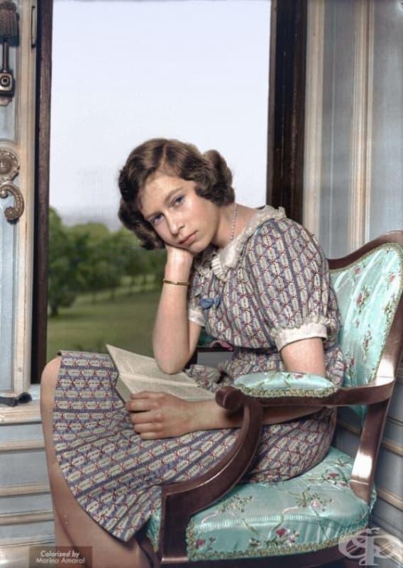 Бъдещата кралица Елизабет II, юни 1940.