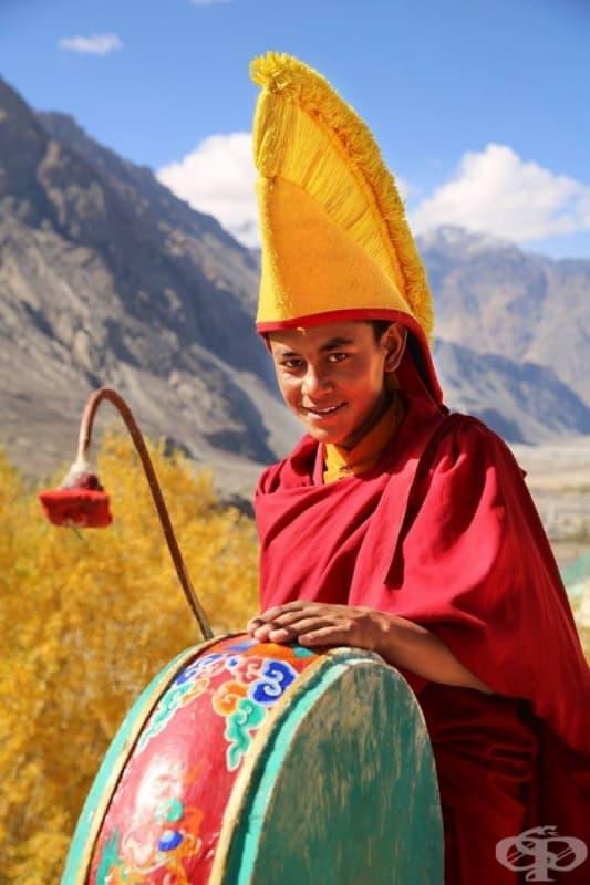 Млад монах.