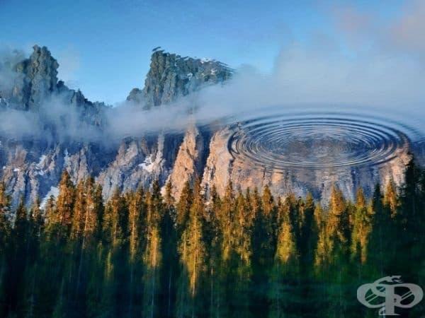 Езерото Кереза, Италия. (Снимка на Антонио Чиюенти)