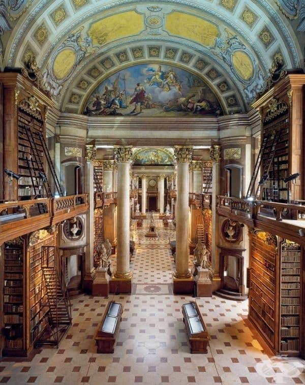 Националната библиотена на Австрия, Виена.