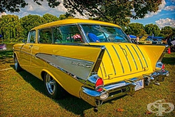 1957 Chevrolet Bel Air Nomad.