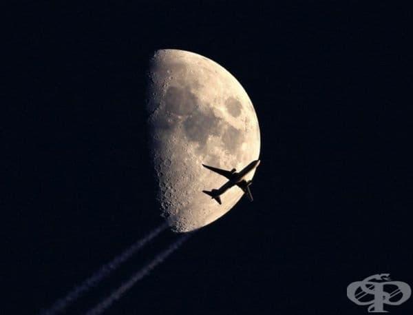 Полет под луната.