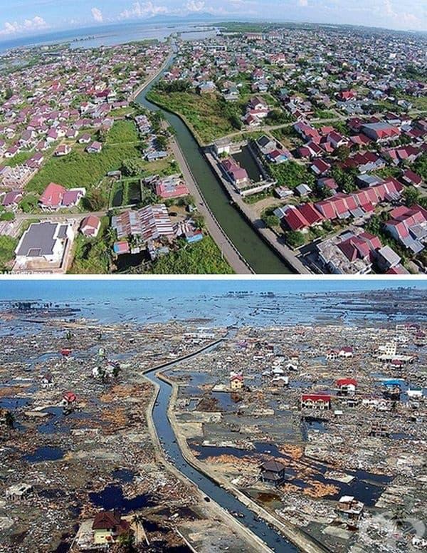 Земетресение в Индийския океан. То е предизвикало най-голямото цунами в света. Водната маса е обхванала бреговете на Индонезия, Шри Ланка, Южна Индия, Тайланд.
