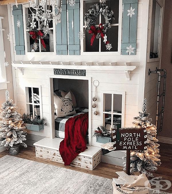 Всички къщи трябва да бъдат украсени за Коледа.