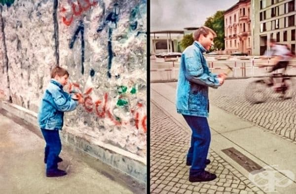 Берлинската стена за някои изглежда вечна.