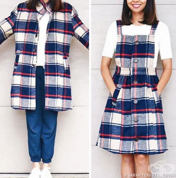 Дизайнер – любител превръща старите дрехи в съвременни облекла