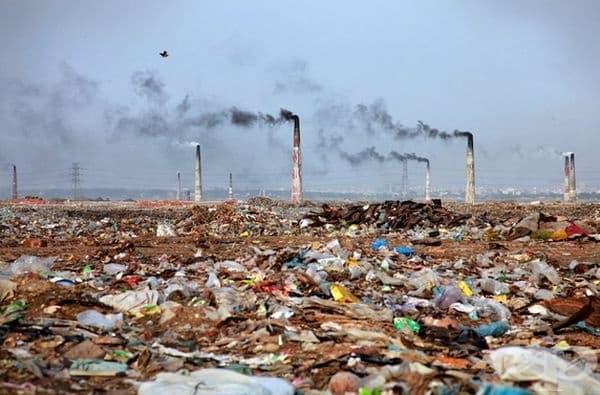 Такива пейзажи са обикновена гледка за жителите на Бангладеш.