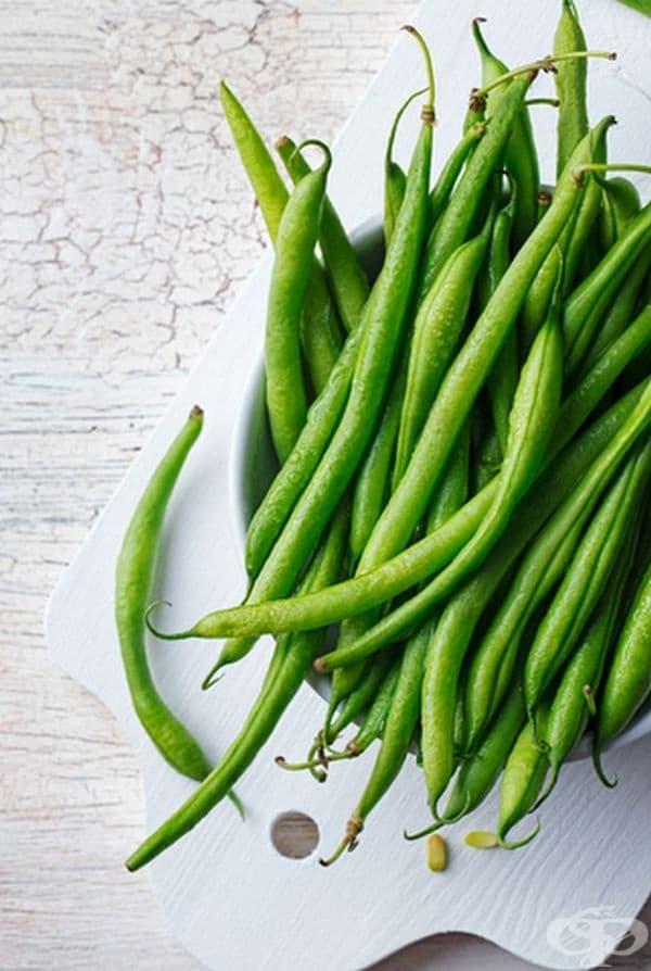 Фасул. Това е храня, която засища стабилно. Фасулът е лесен начин за увеличаване на приема на протеини. Може да се консумира любим сорт от бобовите разновидности.