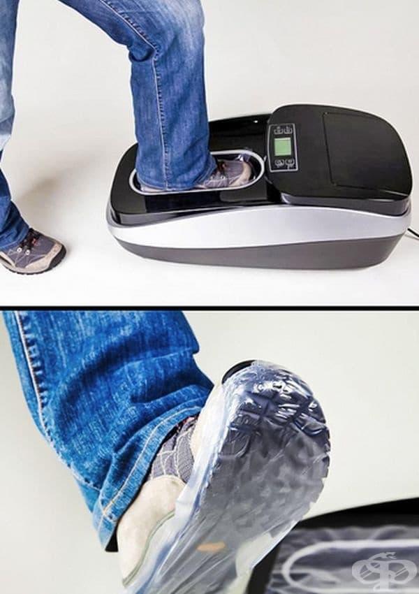 Clean Step XTC е най-доброто решение за чист дом. С този уред лесно и бързо може да поставите калцуни и да не замърсявате помещенията.