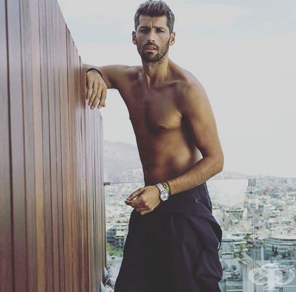 Гърция. Гръцката представа за красота е висок мъж с тъмна коса, изразителни черти на лицето, слабо телосложение.