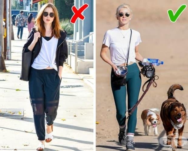 Тези панталони едва ли подхождат на някого, включително на жени над 40 години. По-добре би било да забравите за съществуването на подобно облекло.