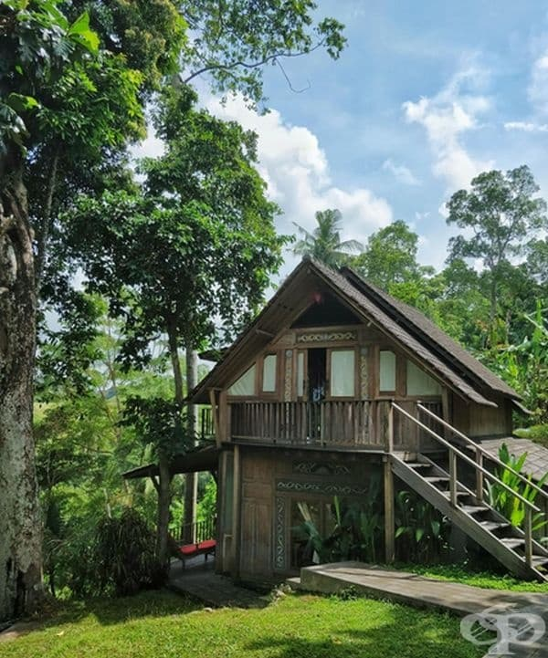 Прекрасна къща в Убуд, Бали.