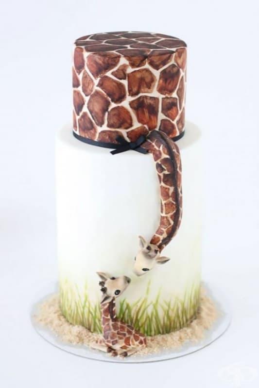"""Торта """"Жираф""""."""