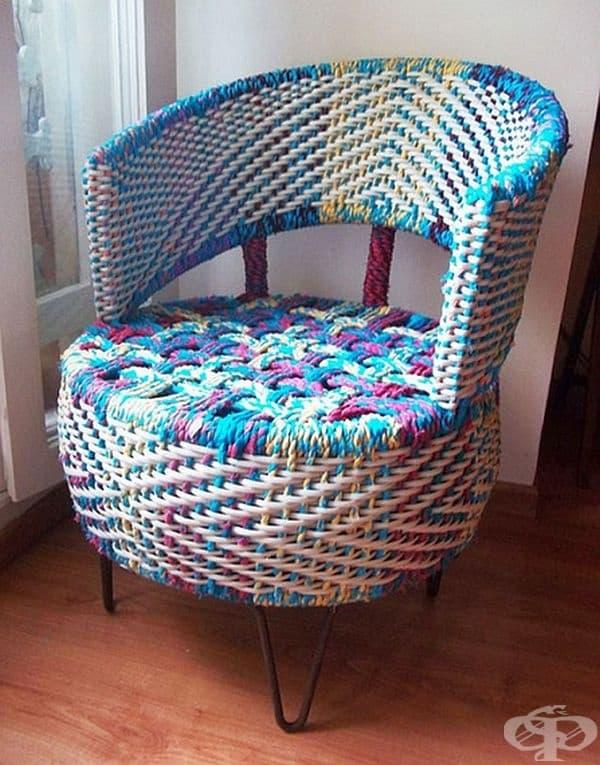 Ето едно предложение за стилно кресло.