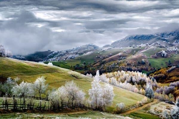 Есен в Румъния