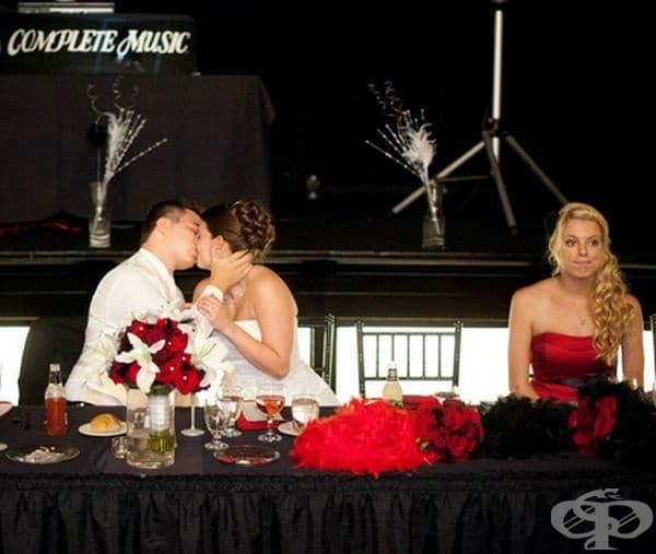 """""""Аз на сватбата на сестра ми преди няколко години."""""""