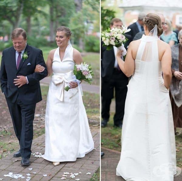 """""""Направих джобове на сватбената си рокля."""""""