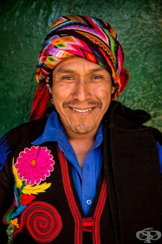 Мъж от племето Киче.