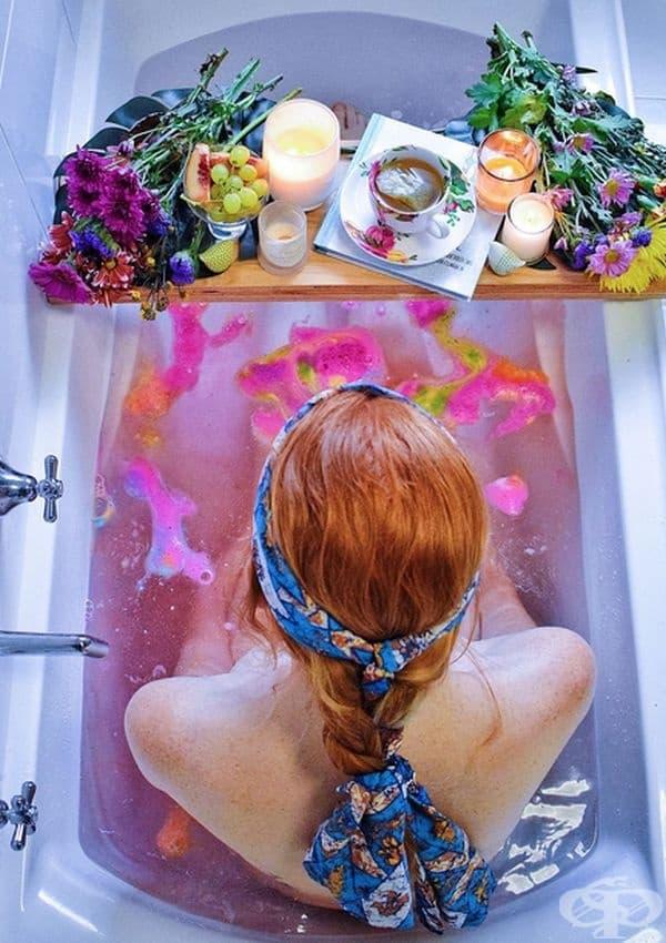 12 идеи за релакс във ваната