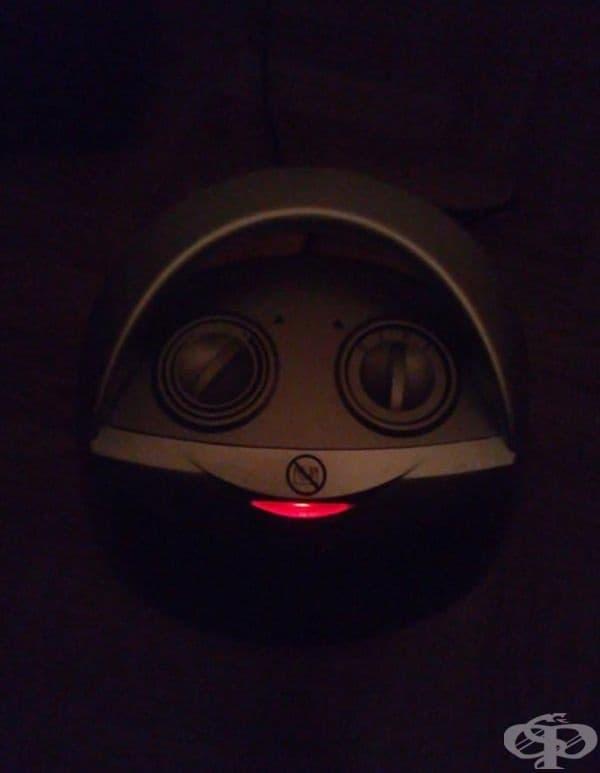 """""""Нагревателят ми прилича на сладко усмихнато чудовище"""""""