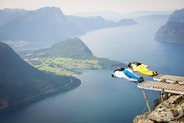 Конкурс по гмуркане в Норвегия.