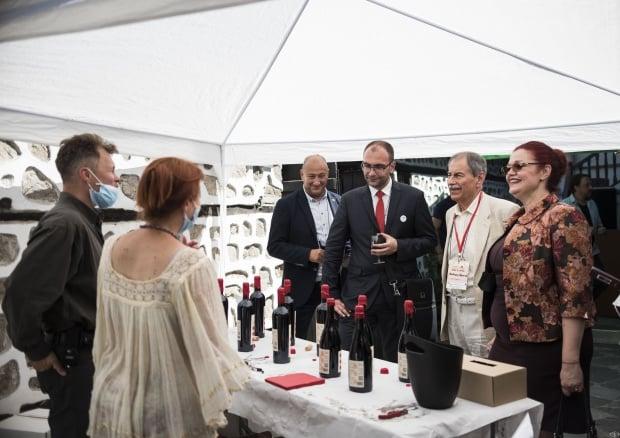 Дегустациите на Дефиле Вино и гурме