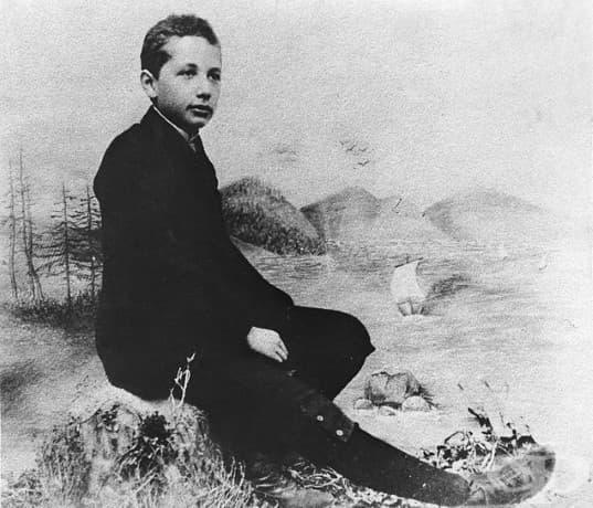 14-годишният Алберт Айнщайн, 1893.