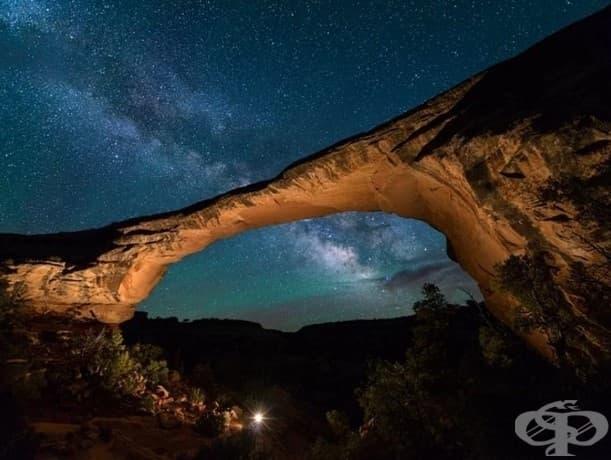 Национален паметник – природен мост, Юта, САЩ
