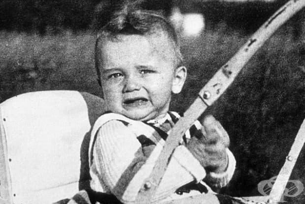 6-месечният Арнолд Шварценегер, 1948.