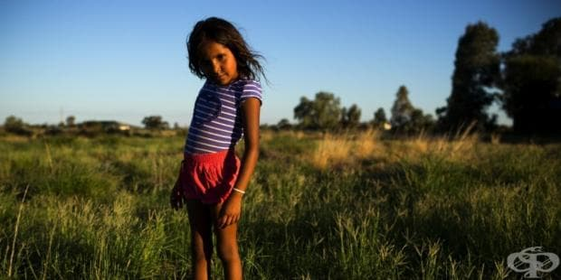 Представителка на коренното население на Австралия