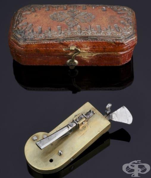 Автоматичен ланцет от 19-ти век