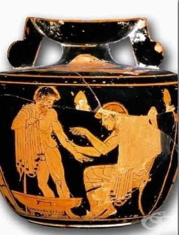 Арибал от 5 век, предназначен за кръвопускане.