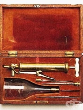 Инструменти за кръвопускане на Бълдъл.