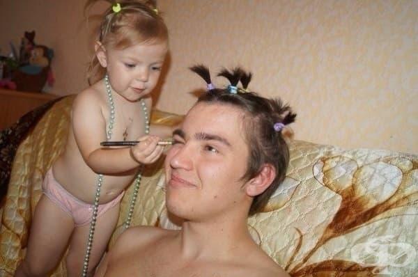 14 бащи, разкрасени от своите дъщери