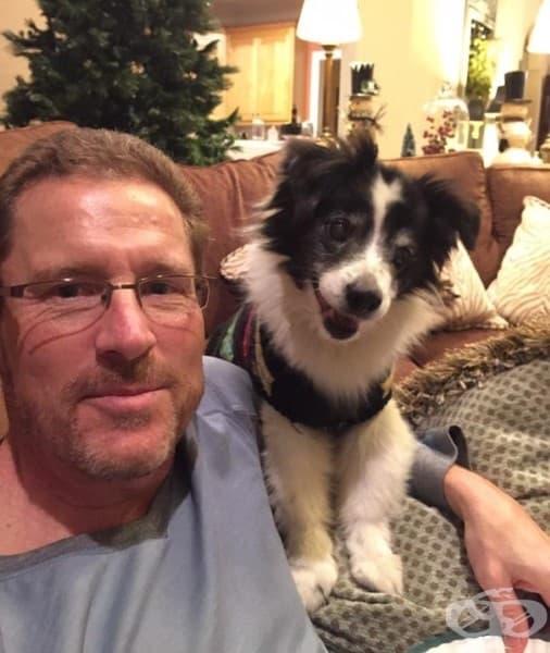 Баща ми не хареса идеята да си вземем куче. 15 години по-късно те са най-добри приятели и не се разделят.