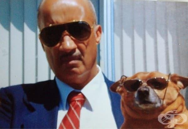 Баща ми не искаше в началото да си вземем куче. После открих тази снимка в стаята му