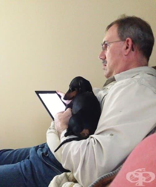 Баща ми каза, че не иска нито iPad, нито куче