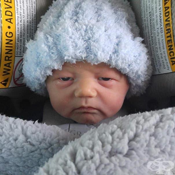 На това бебе са му омръзнали вашите глупости