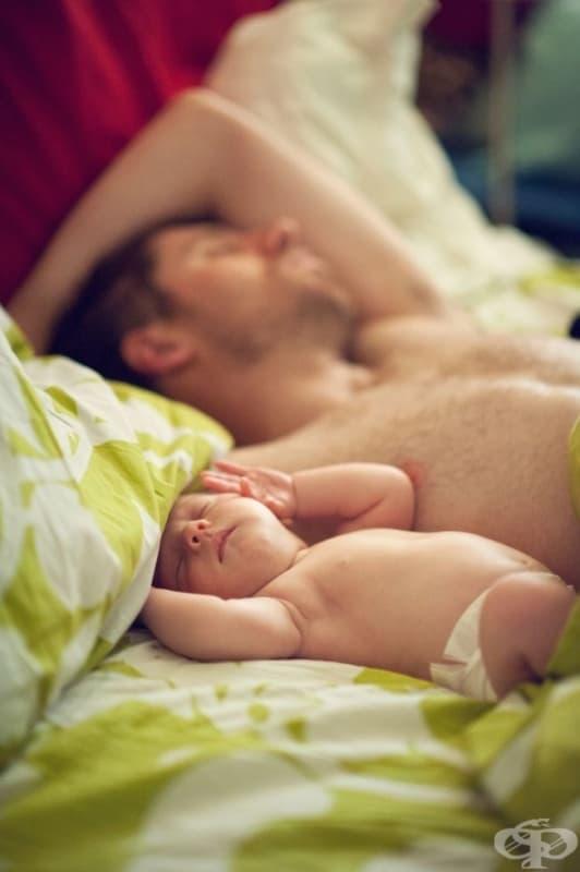 20 снимки на щастливи бащи и техните бебета