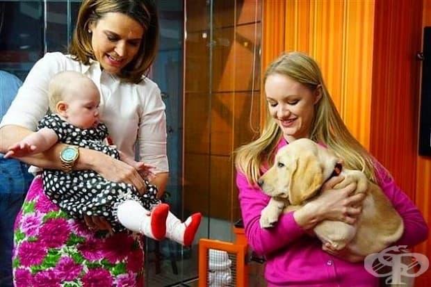 22 снимки на новородени, които срещат домашните си любимци за първи път