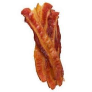 Беконът не е сред най-здравословните месни деликатеси, тъй като съдържа много натрий и наситени мазнини.