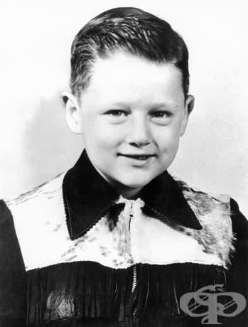 6-годишният Бил Клинтън, 1952.