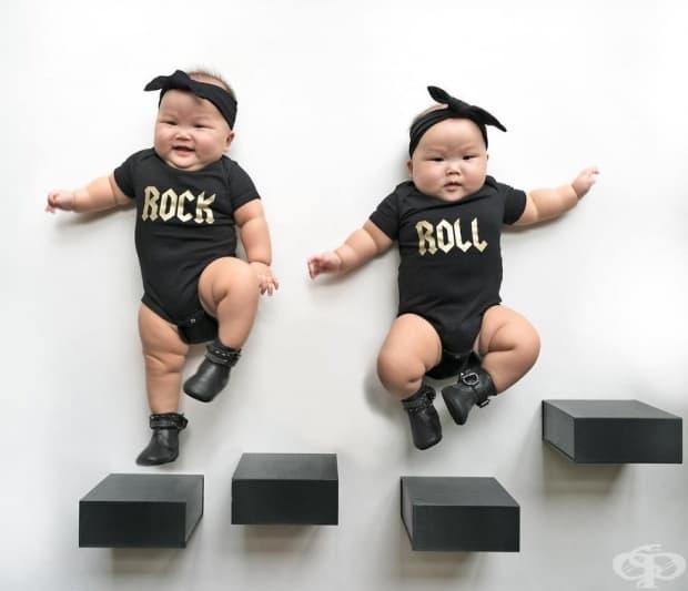 Вижте фотосесия на най-сладките близнаци на света
