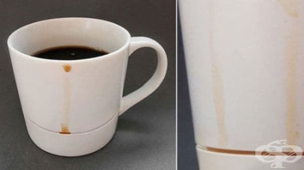 Чаша, която предотвратява разливането на течности.
