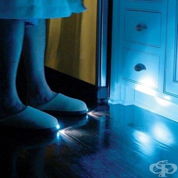 Чехли със светодиоди.