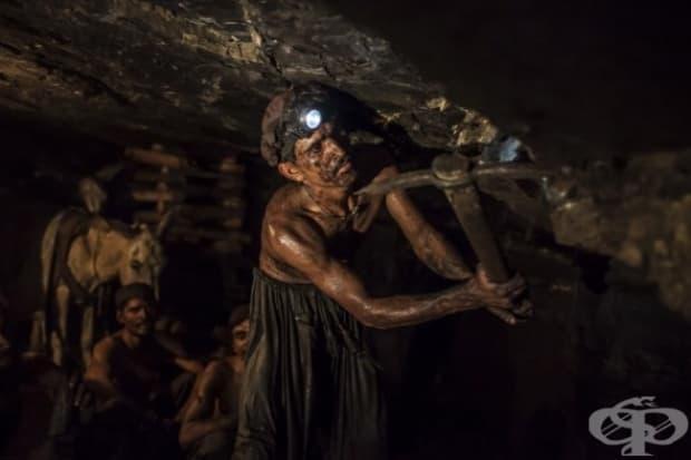 Въгледобивна мина в Пакистан